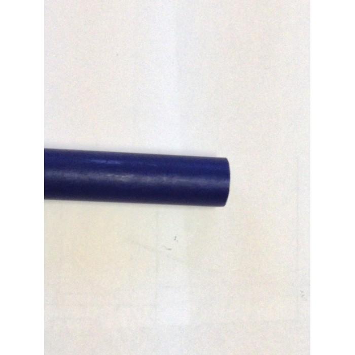 tubo alluminio UNI 7075 T9 colore blu D 11 SP.0,5