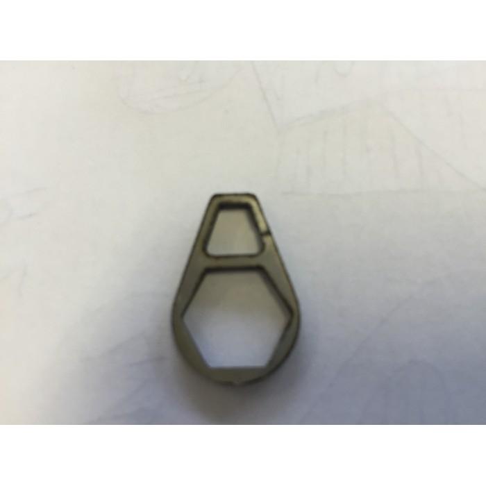 Attacco bugna con gancio per tubo Ø 11 - 11,1 mm