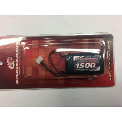 Battery   robitronic 1500 mAh