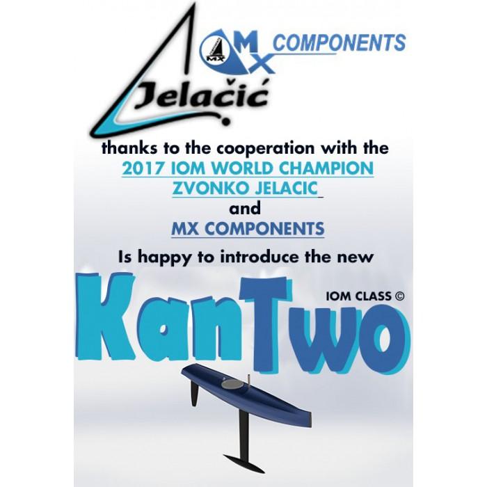KANTWO MX Scafo 2 COLORI tinte RAL (Classe 1m)